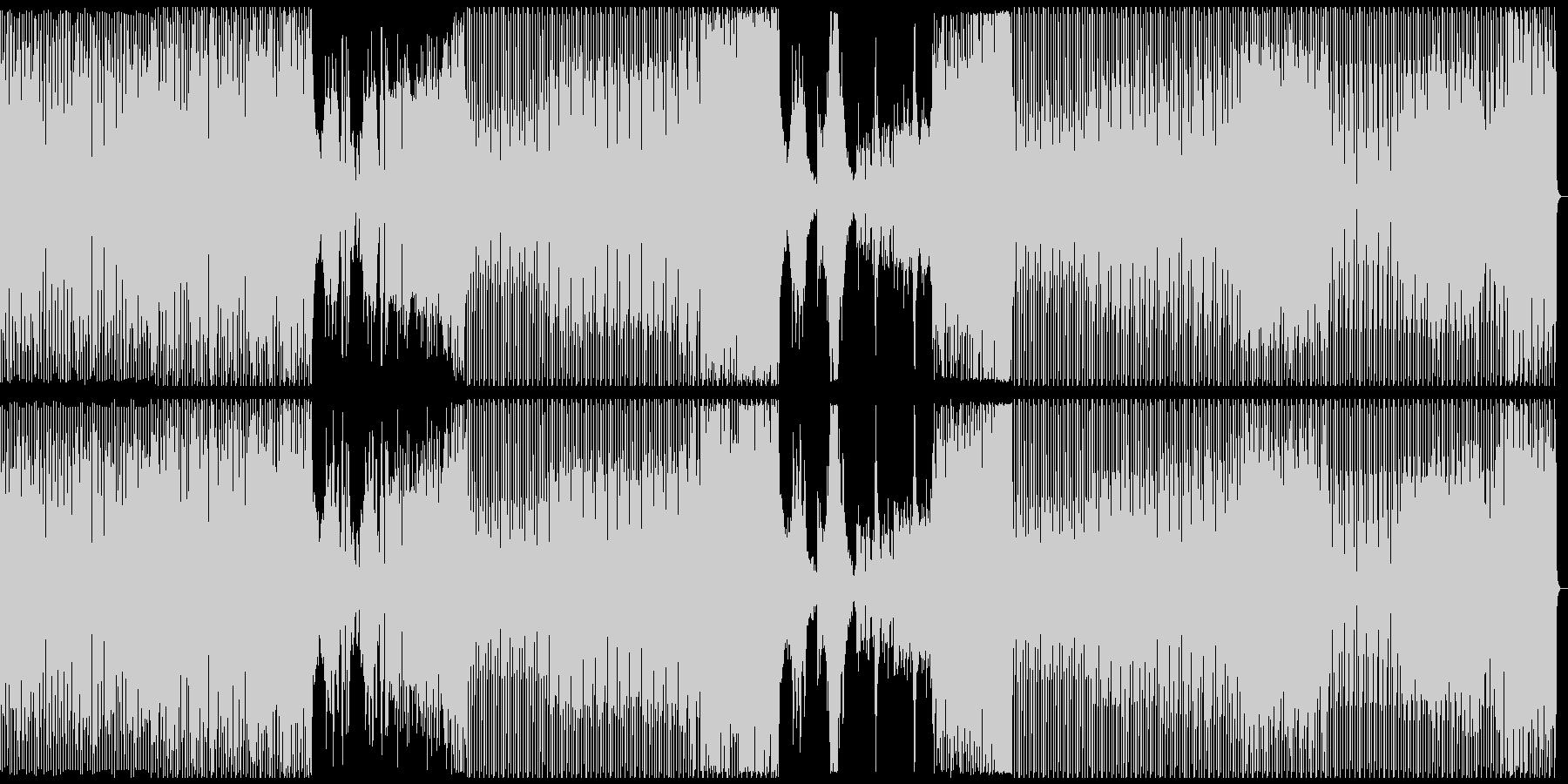 オシャレ・戦闘・スリリングEDM、フルの未再生の波形