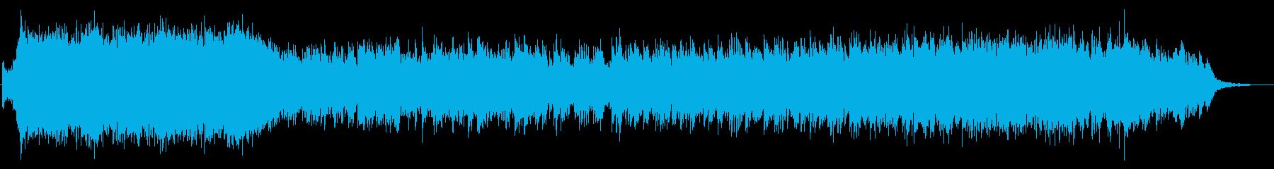 感動的な場面に似合うピアノコンチェルトの再生済みの波形
