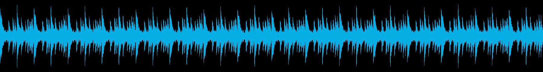 幻想的な時を演出するループソロピアノ曲の再生済みの波形