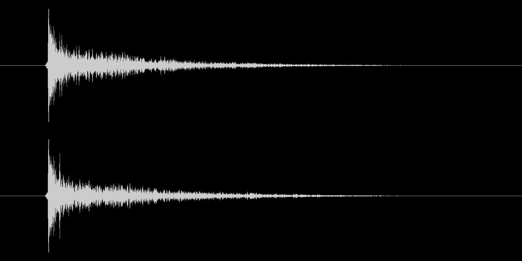カシーンの未再生の波形