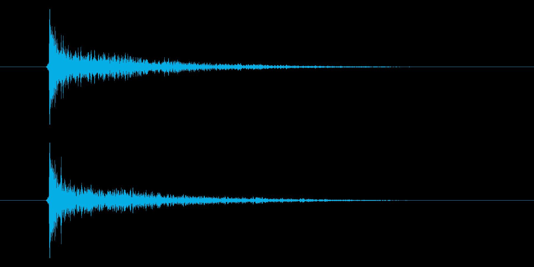 カシーンの再生済みの波形
