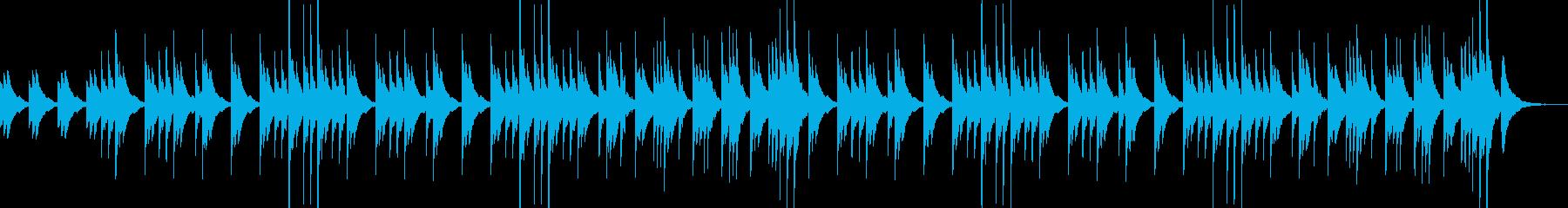 透明な音色が優しいクリスタルバラードの再生済みの波形