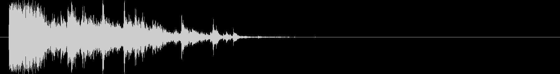 ガラス割れる-14の未再生の波形