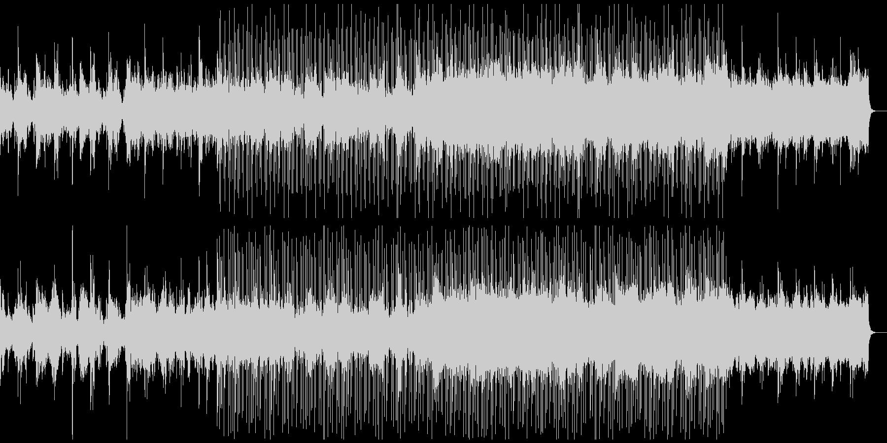 浮遊感のあるアンビエントエレクトロニカの未再生の波形