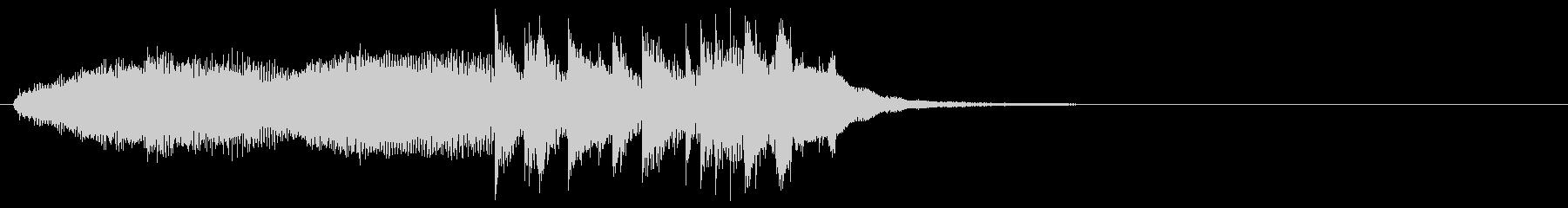 場面転換 クール 機械的 ニュースの未再生の波形