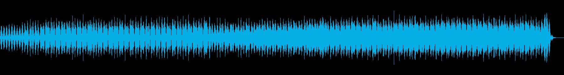 ほのかに和風の雰囲気も残るクールな楽曲の再生済みの波形