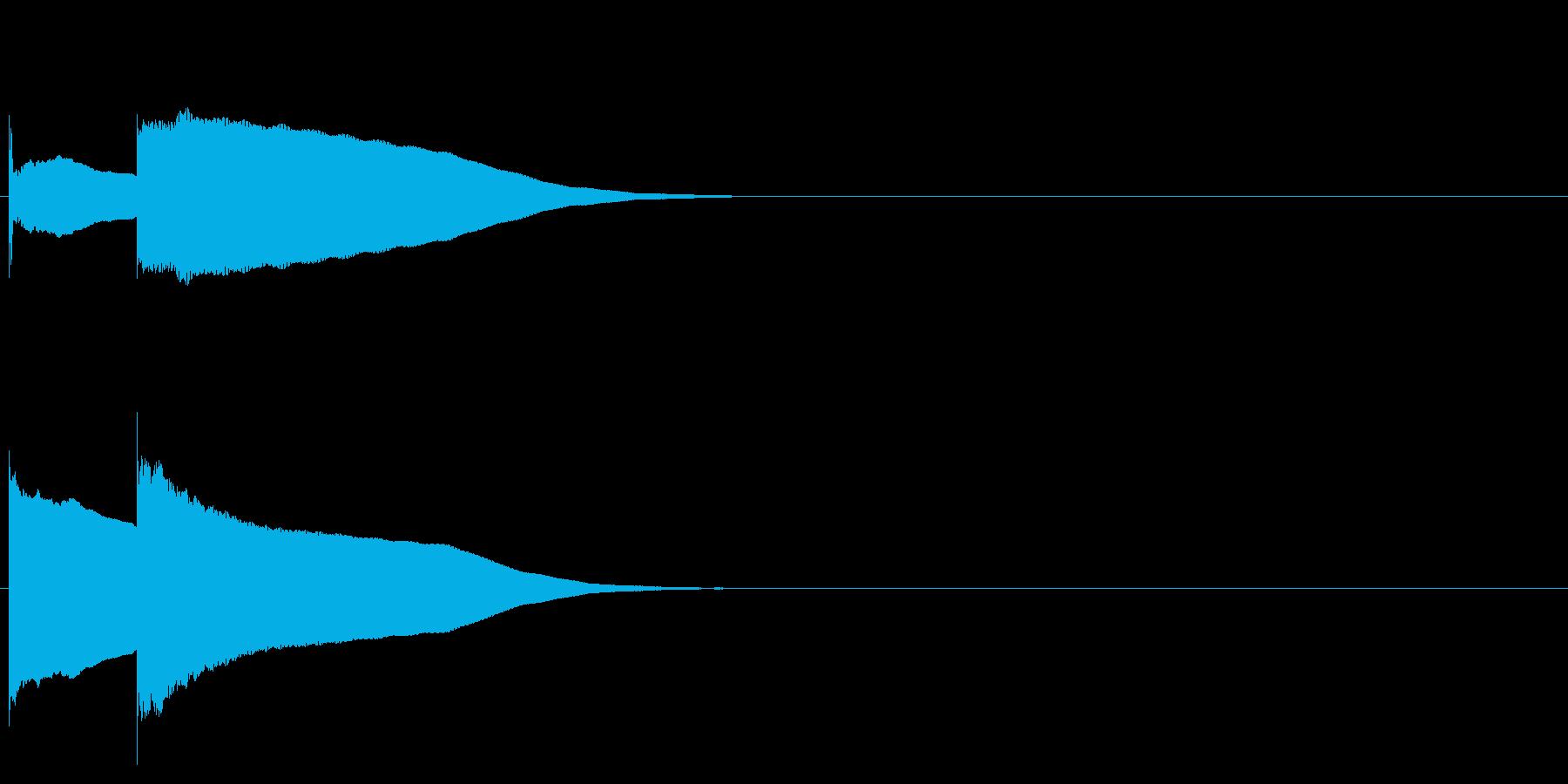 グロッケン系 決定音05(小)の再生済みの波形