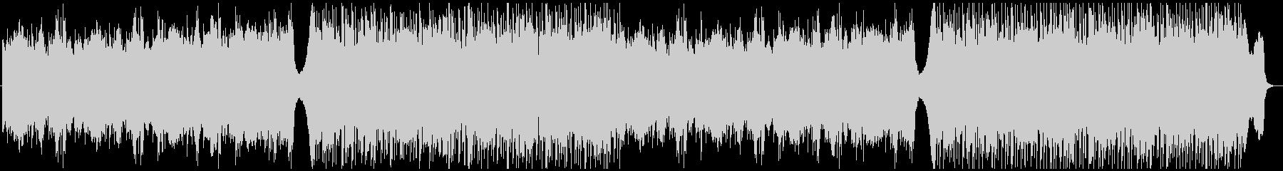 サスペンス・ホラー・ダーク エレクトロの未再生の波形