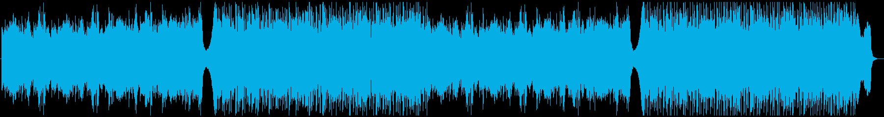 サスペンス・ホラー・ダーク エレクトロの再生済みの波形