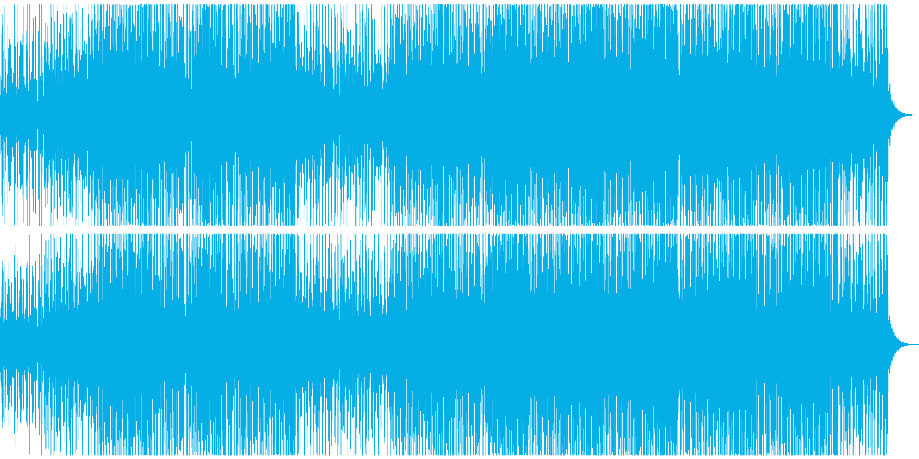 トロピカルハウスパーティーの再生済みの波形