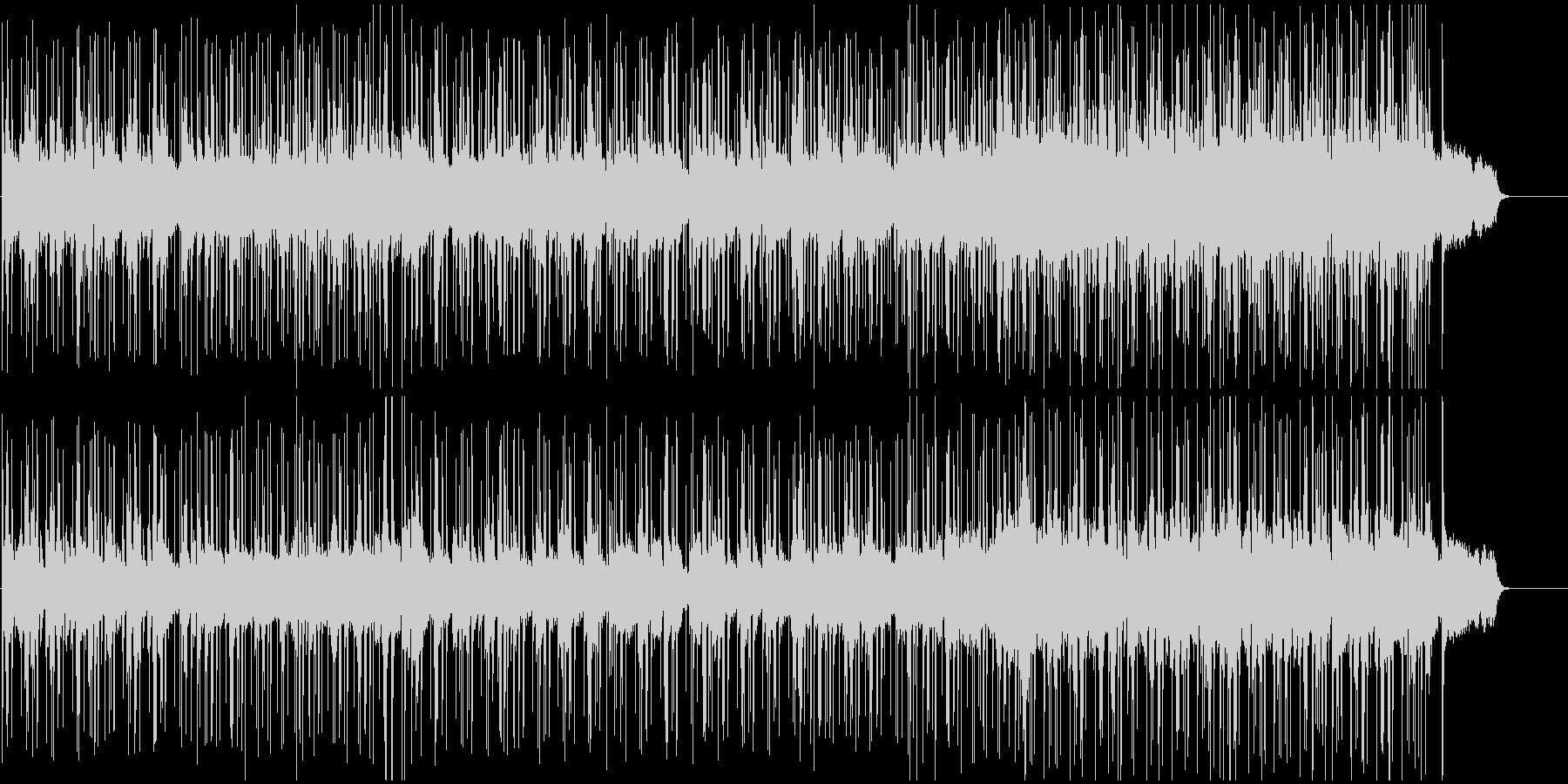 切なく悲しいミディアムポップの未再生の波形