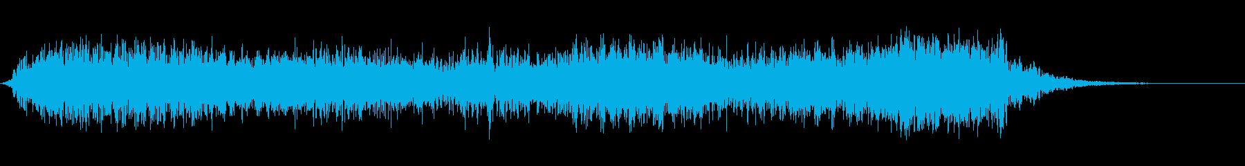 回転する高速フーシュ2の再生済みの波形