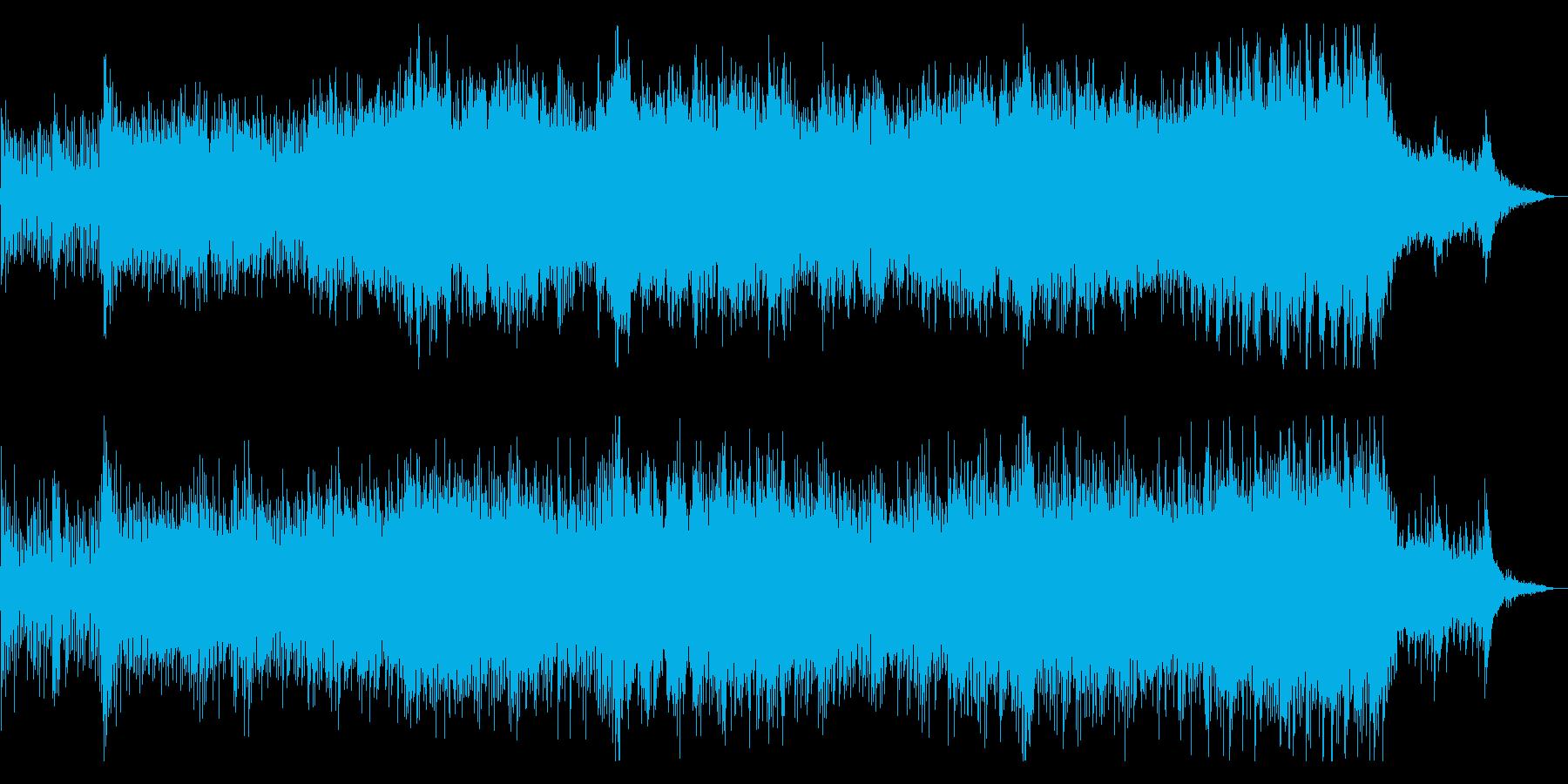 オーケストラによるドラマチックサウンドの再生済みの波形