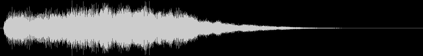 音楽ロゴ;エレクトリックチャイム、...の未再生の波形