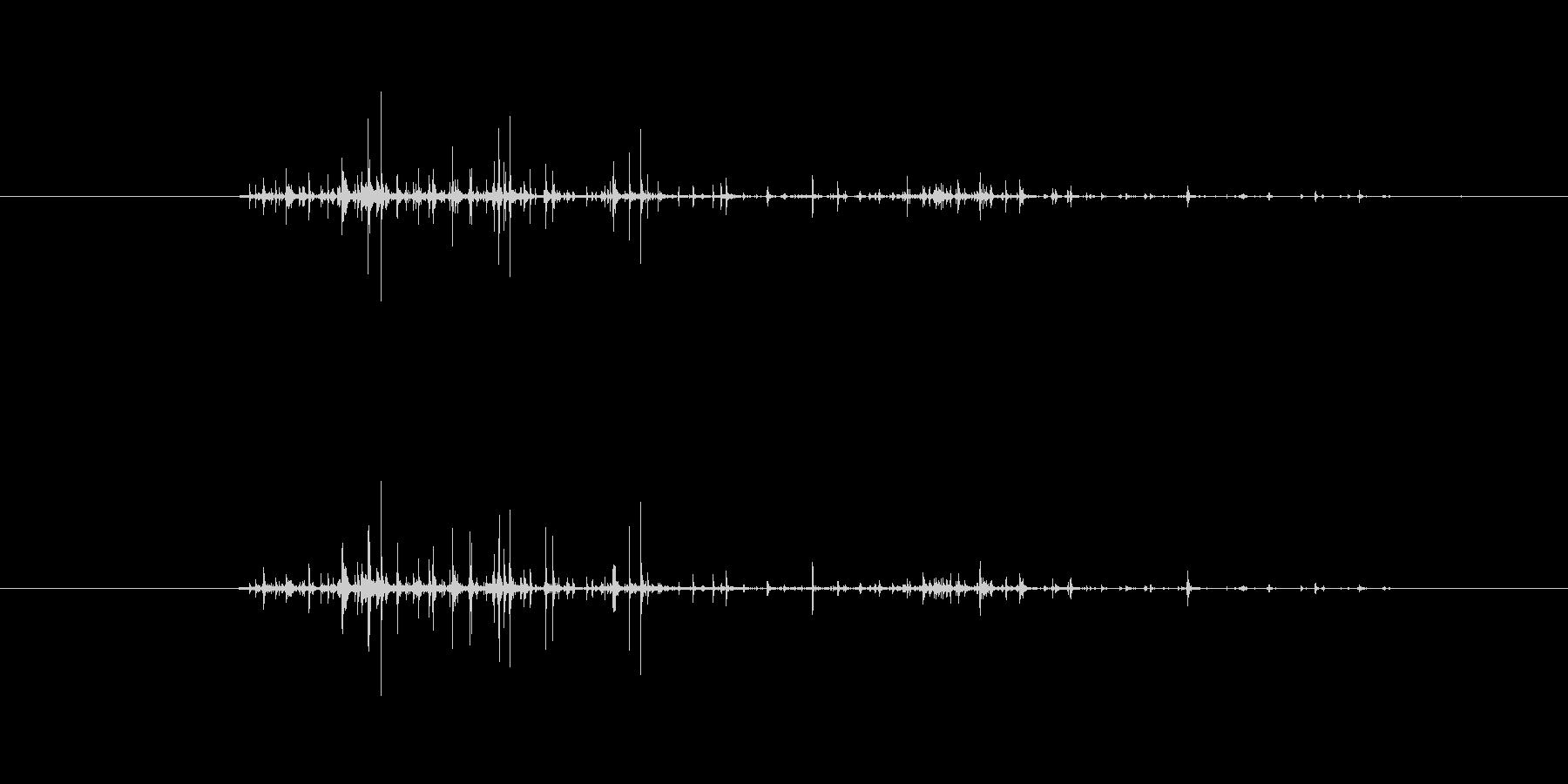 【生音】触れる・ナイロン - 1 「が…の未再生の波形