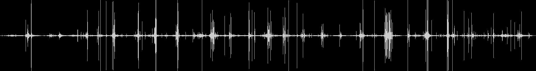 ASMR 枝を踏みしめる足音 環境音の未再生の波形