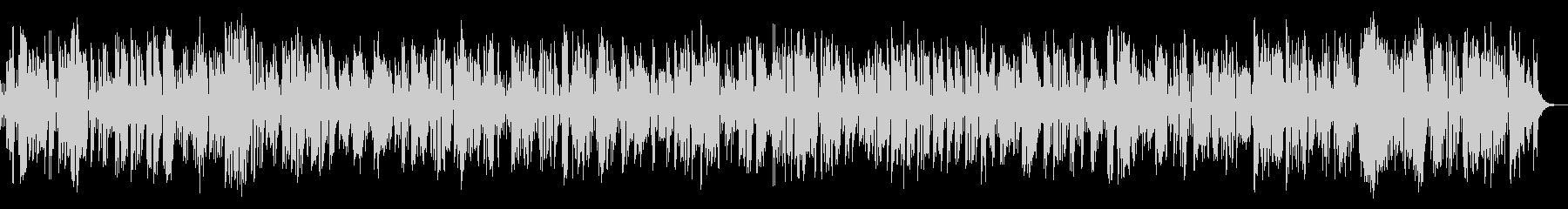 コミカルなビンテージクラリネットジャズの未再生の波形
