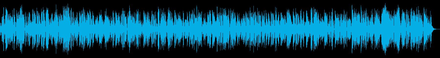 コミカルなビンテージクラリネットジャズの再生済みの波形