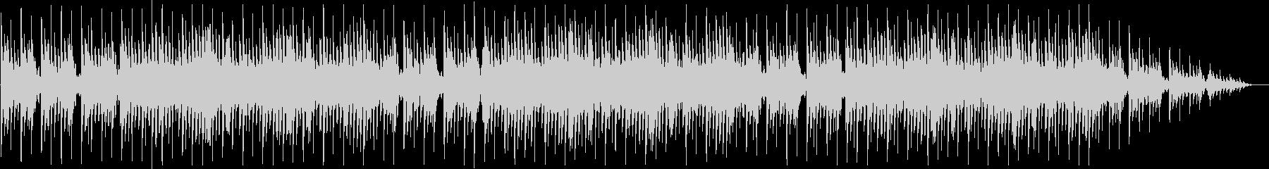 琴を使った和風ゲームのタイトル画面曲の未再生の波形