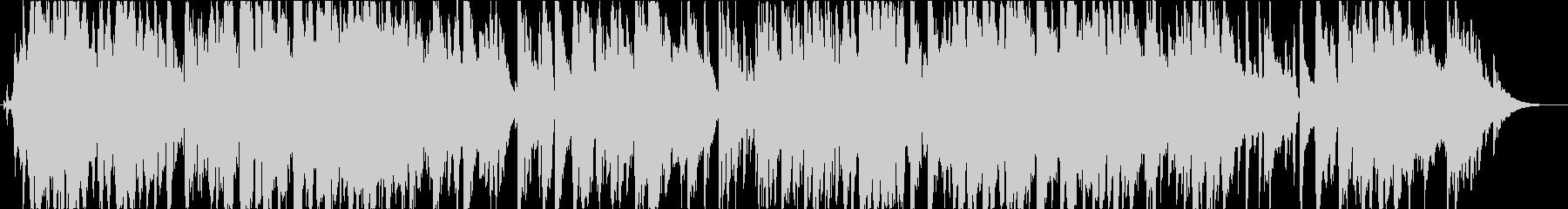 アドリヴサックスを自由に奏でるジャズの未再生の波形