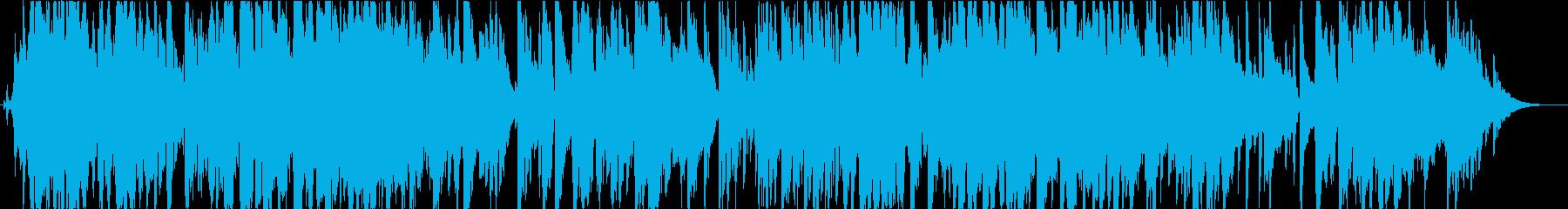 アドリヴサックスを自由に奏でるジャズの再生済みの波形