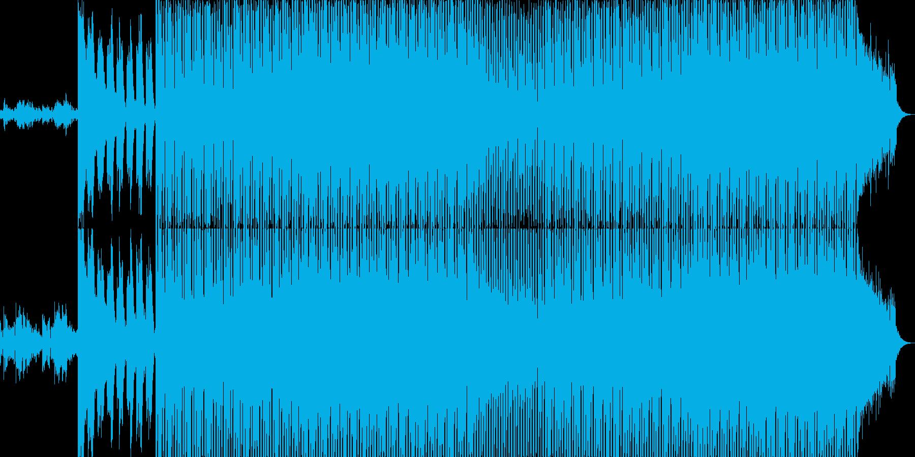 EDMクラブ系ダンスミュージック-87の再生済みの波形