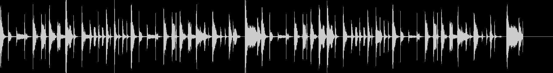 コミカル・脱力系のBGM  ボイパ等の未再生の波形