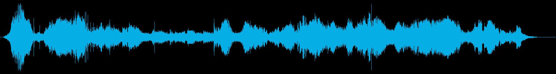FIA GTカー;内向きと外向き(...の再生済みの波形