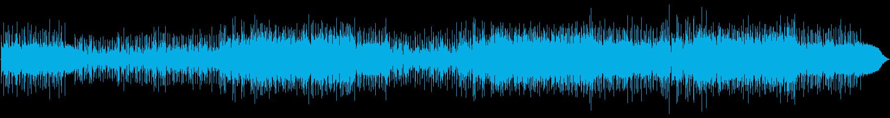 切ない歌詞が印象的なロックバラードの再生済みの波形