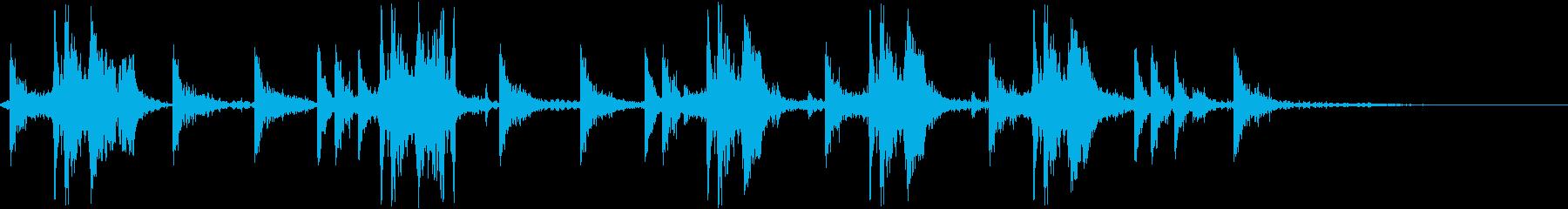 DJ効果音 元気よくなるYoの再生済みの波形