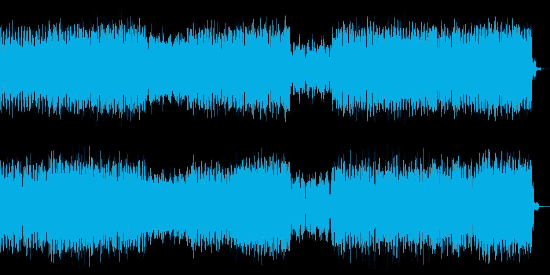 幻想的なアンビエント感があるテクノの再生済みの波形