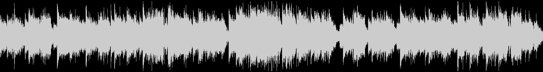 短調の和風曲、壮大、ゆっくり ※ループ版の未再生の波形