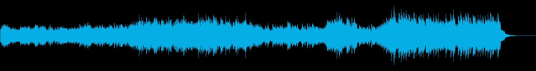 情熱的で切ないピアノのオリジナル曲の再生済みの波形