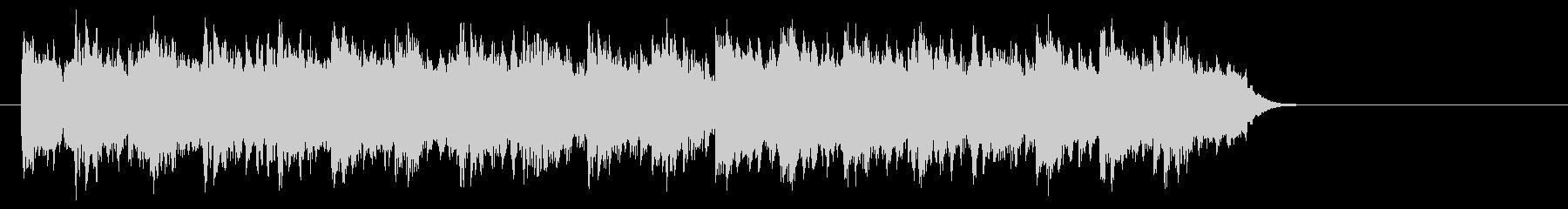 ブライダル風バラード(サビ)の未再生の波形