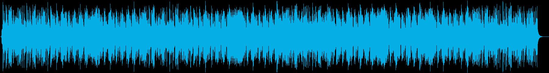 穏やかなポップスオーケストラの再生済みの波形