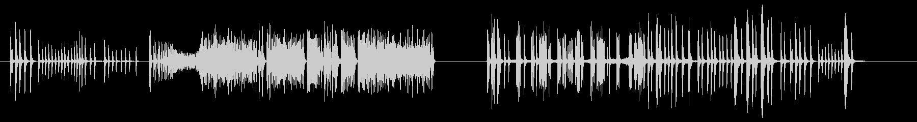 コメディチューブスパッタリングの未再生の波形