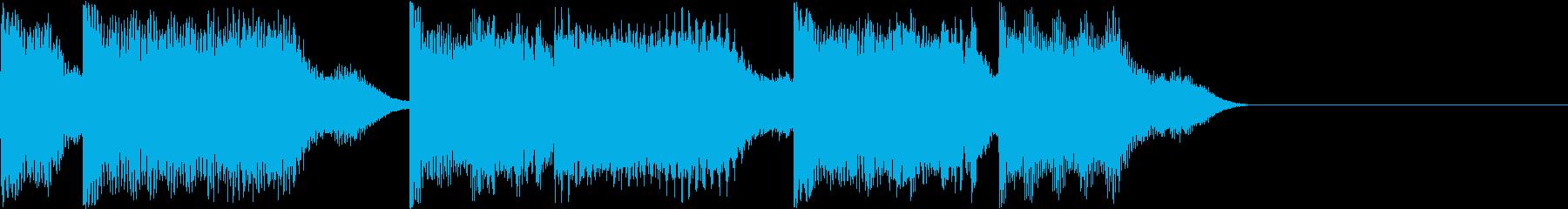 AI メカ/ロボ/マシン動作音 8の再生済みの波形