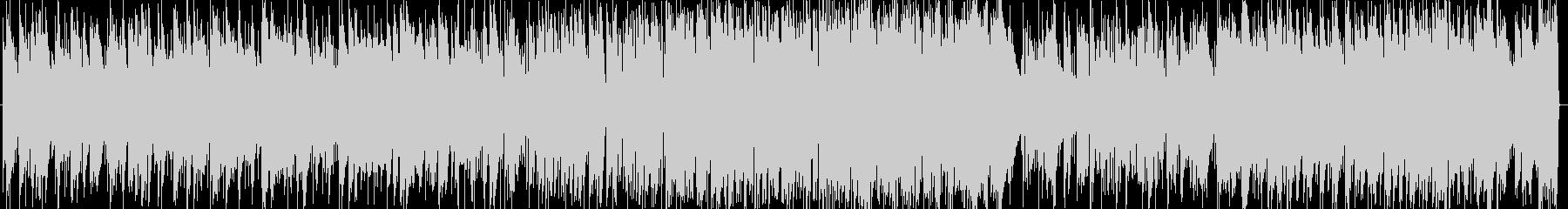 モルダウのジャズピアノの未再生の波形