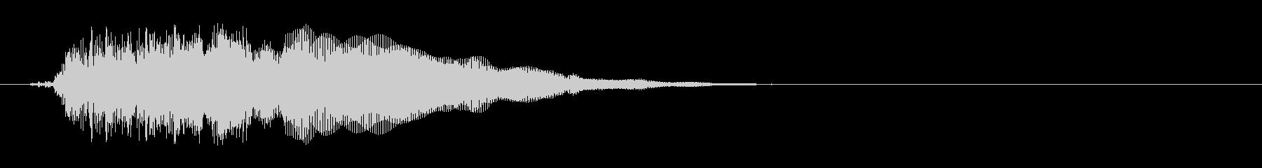 キュピーン(ロボット、起動、電源)の未再生の波形