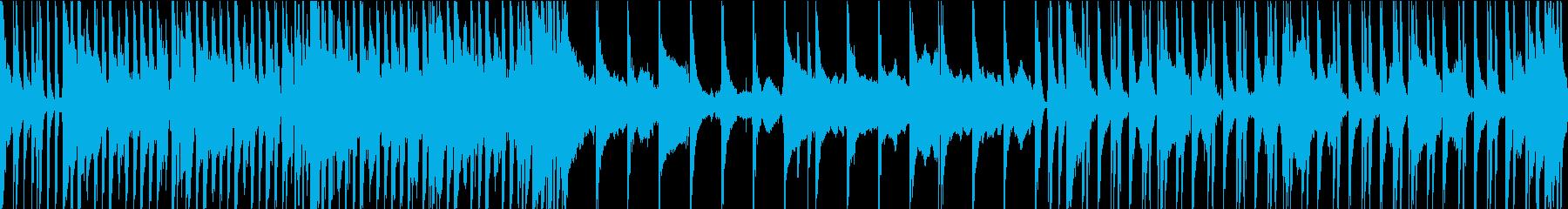 エンタメショー風ヒップホップループの再生済みの波形