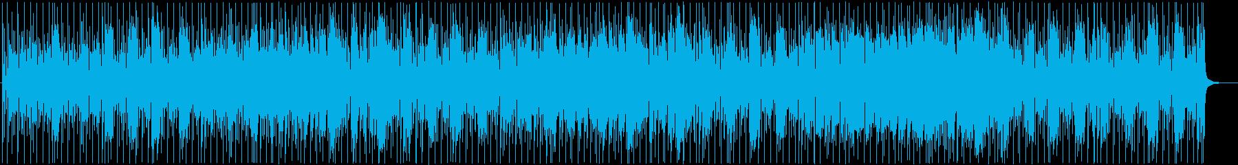 颯爽とした勢いを感じるファンクブルースの再生済みの波形