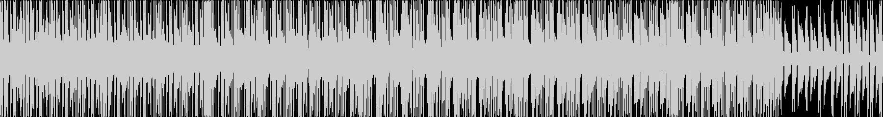 ポップなエレピ主体チュートリアル用BGMの未再生の波形