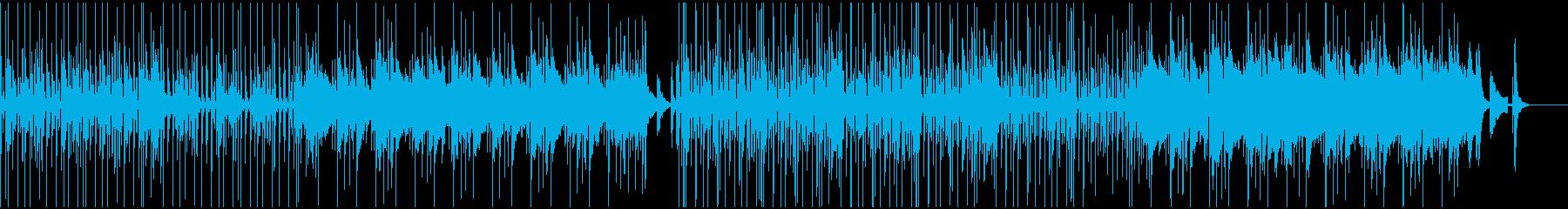 楽しい雰囲気の日常BGMの再生済みの波形