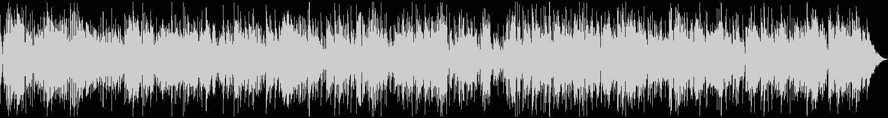 サックスとピアノの優しいボサノバの未再生の波形