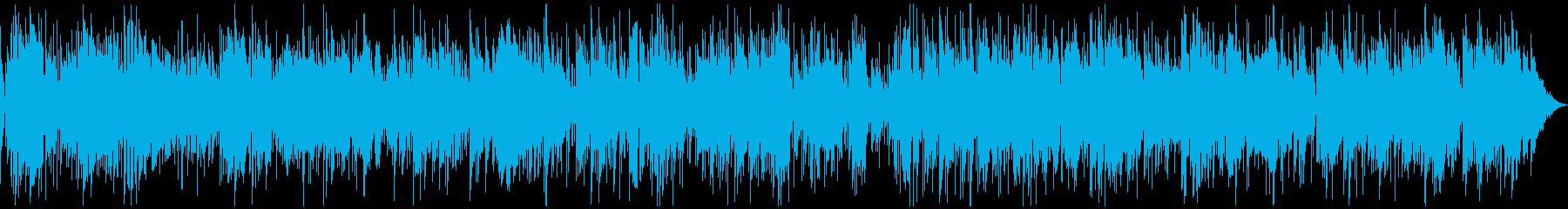 サックスとピアノの優しいボサノバの再生済みの波形