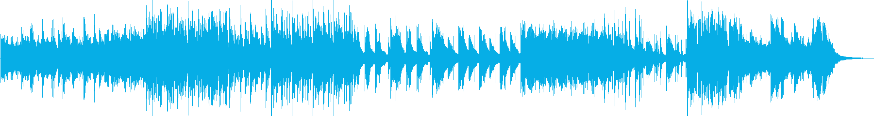 幻想的で不思議なピアノエレクトロニカの再生済みの波形