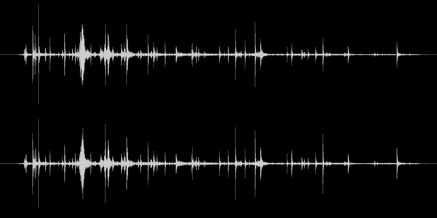 段ボールのシリアルボックス:インナ...の未再生の波形