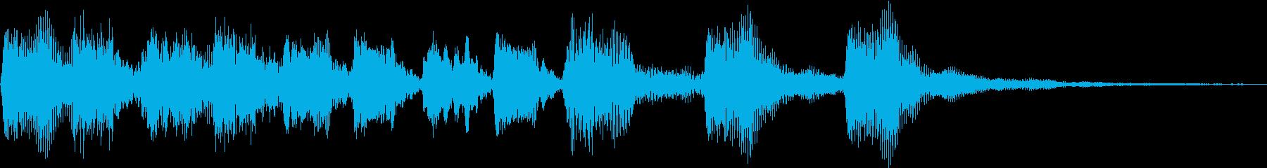 コミカル・おもちゃ・バラエティ/ジングルの再生済みの波形