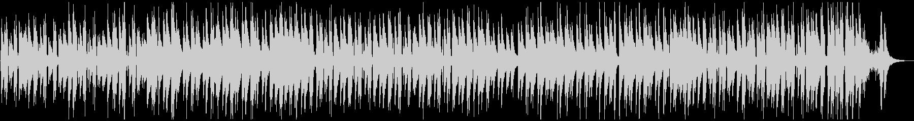 ウクレレのシンプルなほのぼの曲の未再生の波形