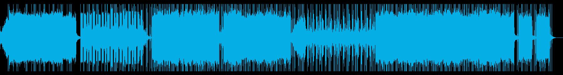 ほのぼのしたチルな休日の朝のエレクトロの再生済みの波形